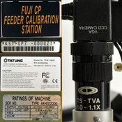 Fuji KST-CP7-AKHEE2000 CP Feeder Calibration Fixture System with Video AS-IS
