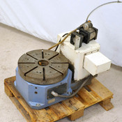 Parkson CNC Rotary Table 4th Axis 44cm Diameter Mitsubishi 7kW HC-SFS702 Motor