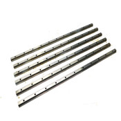 "(Lot Of 6) THK 26"" 660.4mm Stainless Steel ""L"" Shaped Linear Guide Rails"
