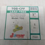"NEW Jomar Valve TGG-CFF 1"" Y-Pattern Multi-Turn Balancing Valve 300 WOG"