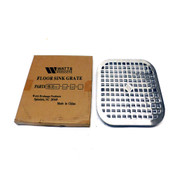 "NEW Watts Drainage FG-12SS-12-12 Stainless Steel Floor Sink Grate 11-3/8"" x 1"""