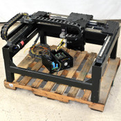 GSI 3-Axis Cartesian Linear Translation Stage 62cm/52cm/5cm with Motors, Drives
