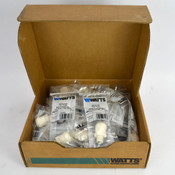 "(Lot of 30) NEW Watts 3501B-1006 Sea Tech 1/2"" CTS x 3/8"" NPT Male Connector"