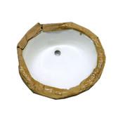 "NEW Sharp Sinks ESI LS-1916 17.5"" x 14.25"" Vitreous China Bathroom Sink"