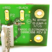 Fargo D000380 Rev 3 24V 3.3A Max PCB Power Assembly For Fargo DTC 550 Printers