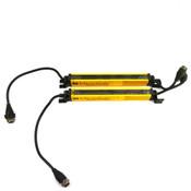 "STI MicroSafe Series MCF4208XE-1 Transmitter + MCF4208RE-1 Light Curtain Bar 9"""