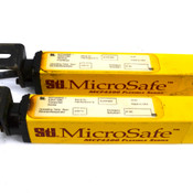STI MicroSafe Series MCF4208XE-1 Transmitter + MCF4208RE-1 Light Curtain Bar 9""