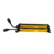 "STI Microsafe Series MCF4208X-3 Transmitter + MCF4208R-3 9"" Light Curtain Bar"