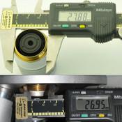 LEICA / Reichert Plan Fluor LWD 100x Epi IK Infinity Microscope Objective BF/DF