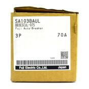NEW - FUJI SA103BAUL BB3ESCUL-075 3P 70A 240V Auto-Breaker Circuit Breaker