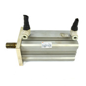 SMC CDQ2F40-75DCM Compact Pneumatic Cylinder 40mm Bore 75mm Stroke 145PSI 1.0MPa