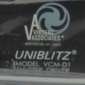 NEW Vincent VCM-D1 115/230VAC Uniblitz 50-60Hz 60W TTL Compatible Shutter Drive