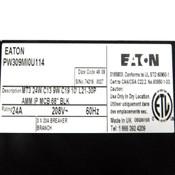 NEW Eaton PW309MI0U114 33 Outlets (24)C13 (9)C19 24 Amp Max Load 208V 50 Hz