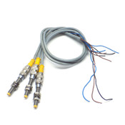 (Lot of 3) Turck 4602760 Inductive Proximity Sensors with Cables, 10-30V DC