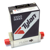 "Tylan FC-2900M Mass Flow Controller C2F6/1 SLPM 1/4"" VCR CardEdge MFC 2900 Valve"