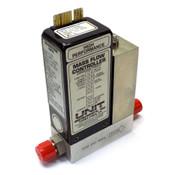 """Unit Instruments UFC-1100A 300 SCCM N2 (Nitrogen) Mass Flow Controller MFC 1/4"""""""