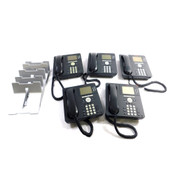 (Lot of 5) Avaya 9630G Gigabit IP Business Conference Telephone PoE Or 48VDC