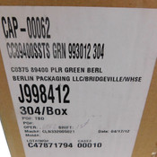 """(Lot of 12) NEW Qorpak CAP-00062 Thermoset Caps w/ Jars 3.635""""O.D. 3.4"""" Thread"""
