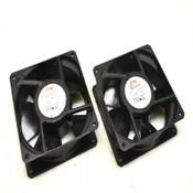 (Lot of 2) ETRI 125LG0181000 208-240V 18/15W AC Axial Fans 120x120x38mm