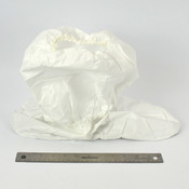 (44 Pairs) XL White Disposable Cleanroom High Boot Covers Booties