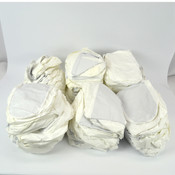 XL White Disposable Cleanroom High Boot Covers Booties (44 Pairs)