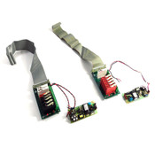 Opto 22 G4PB8 I/O Boards (2) w/ I/O Modules (13) & Lambda PWB-654C PSUs (2)