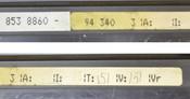 Charmilles Technologies 853-8860 CNC Hand Jog Remote +/-Z +/-Y +/-X +/-U *NICE*