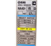 Sunx NA40-16D Area Sensor 4CH Sub-Unit:NA40-4SUD Main-Unit:NA40-MUD 4-Channel