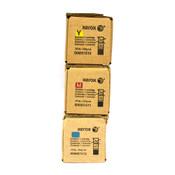 Genuine OEM Set of Xerox Toner C/M/Y WorkCentre 006R01510 006R01512 006R01511