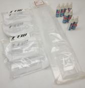 Body Parts & Shock Fluid: 10, 15, 20 wt + Complete Downforce Wing Set