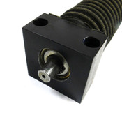 "28.5"" Long Ball Bushing Linear Block Assembly 17.625"" Max Travel w/Shaft Bellows"