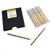 NEW Guhring 9055190049000 4.9mm 118-Degree Cobalt Jobber Drill Bit 10-PK