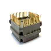 New ITT Pomona POM-5402 PLCC Quad Clip Test Adapter 84-Pin Gold-Plated