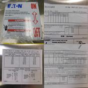 NEW Eaton DH165UWKN 600V DC 400A SS Solar Safety Switch Disconnect Enclosure