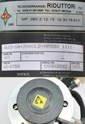Rockwell S663-1A+2000LD+MP080 with Tecnoingranaggi 12:1 Gearbox with Belt Pulley