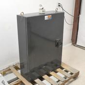 Unbranded 29.5 x 10.5 x 41.25 Electrical Enclsoure Steel w/ Breaker Handle Light