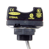 Banner OTBA5L Single Point Optical Momentary Action Touch Button 120VAC