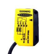 (Lot of 5) Banner Q23SN6RQ Photoelectric Receiver-Sensor 8 Meter Range 10-30VDC