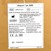 (4,240) NEW Hitachi Roche 795-9030 Aliquot Nozzle Tips 2000 - Sealed Packaging