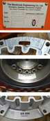 "NEW Newbrook 002 REDN Industrial Gearbox Speed Reducer Ratio:2.464 Shaft:3-1/8"""