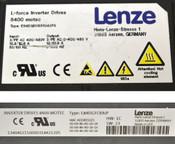 Lenze L-Force Inverter Drive 8400 Motec Drive E84DGFCRAJP/E84DGDVB55242PS 3/PE