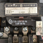 General Electric CR306B100FND Size 0 Motor Starter 120V Coil w/ Enclosure