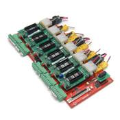 Asto Systems SLCB-0D-0081 Rev. 5 Board AMD 1000556-500 w/ 6 SDRV13 Modules
