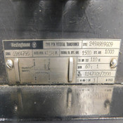 NEW Westinghouse 249A989G09 60:1 Step-Down Transformer w/ GE Type EJ1 Fuse