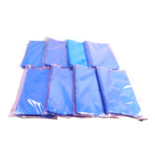 "(Lot of 800) Blue Poly 13"" x 8"" Anti-Static 2 MIL Flat Storage Bags Open-Top"