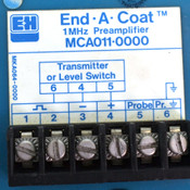 (Lot of 2) Endress End-A-Coat MCA011-0000 1MHz Preamplifier Preamp
