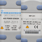 Rohde & Schwarz NRP-Z211 Two-Path 8GHz Diode Power Sensor AS-IS needs repair