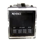 (Lot of 2) Keyence AP-C40W Amplifier Unit Pressure Sensor 12-24 VDC NPN Type