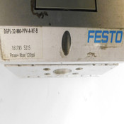 "Festo DGPL-32-880-PPV-A-KF-B Pneumatic 44.5"" Rodless Linear Drive Unit 120 PSI"