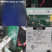 Meidensha Meiden UA026/Type 856A Industrial Controller Unit No HDDs Included